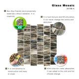 Mattonelle di mosaico di vetro macchiato di modo per la decorazione domestica