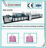 Nicht gesponnener einfarbiger Bildschirm-Drucken-Maschinen-Preis (ZXH-A1200)