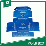 El papel de color azul Caja de cartón para el envío de correo