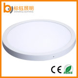 Superficie redonda de 600mm Panel LED lámpara de techo vivienda Home decorar Luminaria LED de iluminación interior
