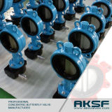 Oblate-Drosselventil-Griff-Geschäft ANSI Ss304