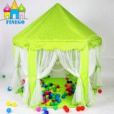 Esterni dell'interno schioccano in su la tenda della principessa Kids Children Game Play