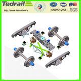 Conjunto de rueda del carril del molde del uso de la industria para el tren