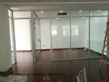 De openlucht Beweegbare Tijdelijke Verdeling van het Hotel van de Muur van het Glas Frameless