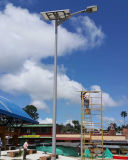 Installazione facile 100% di rendimento elevato di luminosità TUTTA all'indicatore luminoso di via solare DUE 20W