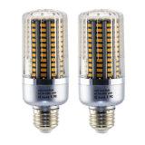 La luz E26 25W del maíz del LED calienta la lámpara de plata blanca del bulbo de la carrocería LED del color