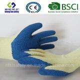 Guantes del látex, guantes del trabajo de la seguridad (SL-R504)