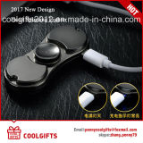 2017 New Design Electric Hand Spinning USB Charged Cigarette Briquet