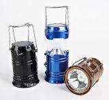 Lanterna solare Emergency di campeggio ricaricabile della lanterna/indicatore luminoso di campeggio solare