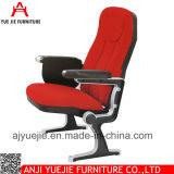 Morden様式赤いファブリックカバーArmrestの講堂の椅子Yj1211