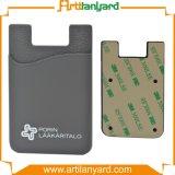 Владельца карточки телефона силикона логоса Ptinted конструкции клиента