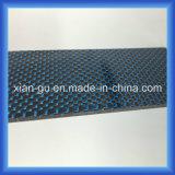 파란 & 은 철사 탄소 섬유 격판덮개