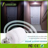Bulbo 12W 20W del radar LED del movimiento T80 del sensor