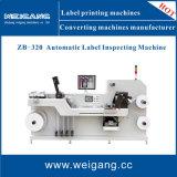 Automatische het Inspecteren van het Embleem van het Etiket Machine met het Scheuren voor de Inspectie van de Kwaliteit van de Druk