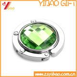 Kundenspezifisches Firmenzeichen-Heart-Shaped Kristallgeld-Haken-Schmucksache-Geschenk (YB-HD-109)