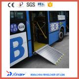 Rampe en fauteuil roulant Certificat EMC Rampe de chargement en aluminium pour bus