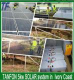 격자 태양 전지판 가정 시스템 떨어져 2014 최신 지능적인 5kw