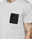 남자를 위한 둥근 목 간결 소매 100%Cotton t-셔츠