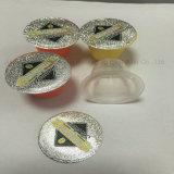 Couvercle de papier d'aluminium pour la capsule de café