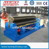 Prensa de batir mecánica de la placa de acero de hoja de metal de W11-12X2500 3-Roller Symmertical