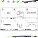 Al Aangepast Patroon van de Reeks/Radiator van de Uitdrijving van het Aluminium