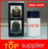 Private Label Hair Building Fibras na queratina oferece 18 cores