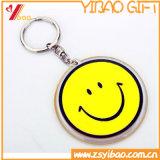 Impresión Debossed del esmalte de la insignia de Customed y metal grabado Keychain /Keyring /Keyholder cualquie regalo Shaped del recuerdo (YB-HD-188)