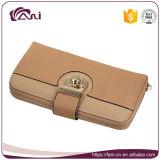 Venta al por mayor de alta calidad PU Wallet Especial Design Zipper mujeres cartera