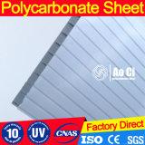 10mm Twin-Wall Vigin 100% de la Junta de dosel de materiales de Bayer