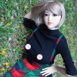 Echt Stuk speelgoed 158cm van de Liefde van de Taille TPE van het Lichaam van het Gevoel Levensecht Volledig Klein Slank Groot Doll van het Geslacht van de Vrouwen van Domoren Silikon Mager Dun Klein Jong