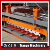 Azulejo de azotea del metal de Ty que hace la máquina con el sistema hidráulico del corte