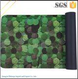 ハイカラーの固着のヨガのマットの袋が付いている習慣によって印刷されるヨガのマット