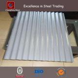Colorer la plaque en acier ondulée pour la toiture (CZ-CP17)