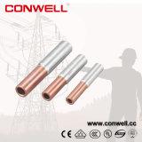 Bi cobre alumínio metálico cabo elétrico de Compressão de Terminais e Conectores de cravar os fabricantes