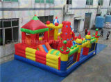 Campo da giuoco gonfiabile del grado commerciale, parco di divertimenti del capretto da vendere