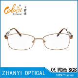 Beta blocco per grafici di titanio di vetro ottici di Eyewear del monocolo di ultimo disegno per la donna (9321)