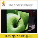 Piscina P3 estúdio de TV Display LED para cinema em tela de LED