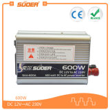 CC di Suoer 12V 600W all'invertitore di energia solare dell'invertitore di CA (SAA-600A)