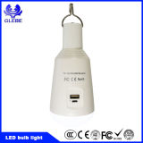 Ampoule de la charge de la batterie DEL de l'éclairage LED 7W de panneau solaire
