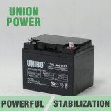 De zonne AGM van het Systeem Solor van de Batterij 12V34ah Zure Batterij Van uitstekende kwaliteit van het Lood