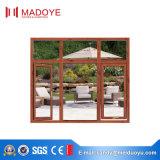 China-Lieferanten-Doppelt-Glasaluminiumflügelfenster-Fenster
