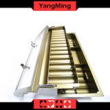 15 ряда металлических Poker лоток для стружки с двухслойным Poker Chip с крышку замка Ym-CT15