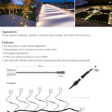Indicatore luminoso esterno del punto del giardino LED di IP67 3W 24V