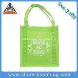 Bolso no tejido reciclado promocional de las compras del supermercado de Eco