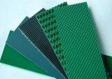 Ceinture en PVC souple Converyor avec vert-blanc