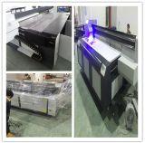 Máquina de impresión automática de la impresora UV plana comunicaba con Seiko cabezal de impresión \ LED de alta velocidad