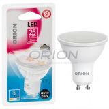 Bulbo LED GU10 de la luz 220V del punto de la venta al por mayor 5W LED de la fábrica de Hangzhou