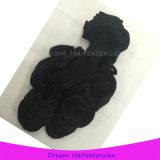 Полным человеческие волосы Funmi цвета надкожицы нарисованные двойником естественные