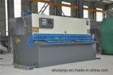 Machine de tonte de commande numérique par ordinateur de QC12k 16*4000 de découpage hydraulique d'oscillation