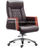 Cadeira elevada do gerente de escritório do couro traseiro para o executivo (8511)